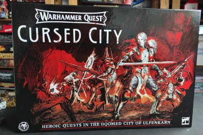 The Curse of 'Warhammer Quest: Cursed City'