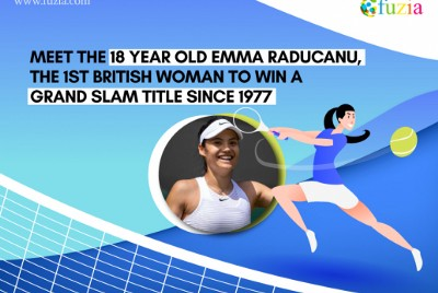Meet the 18-year-old Emma Raducanu, the 1st British Woman to win a Grand Slam Title Since '77.