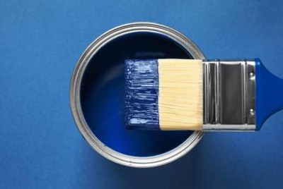 The world is going through a scarcity of blue paint