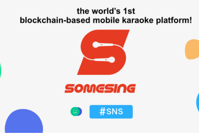 SOMESING for LINE Blockchain: We Invite Beloved Singlovers to the New World of Blockchain Karaoke