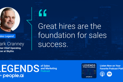 Podcast: LEGENDS of Sales and Marketing. From-people.ai