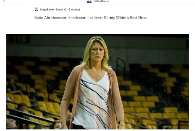 Knight Sports Now Just Stole an Article From Me.