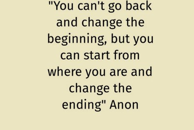 Quote #20 That Helped Shape The Chapters Of My First Book