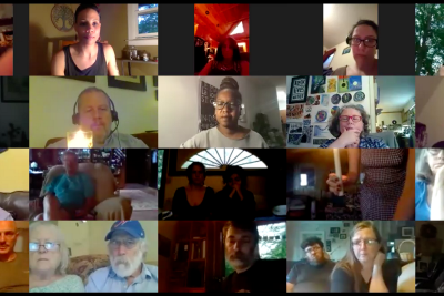 Vigil for George Floyd and Black Lives: June 5th, 2020 Zoom Broadcast from Boone, NC.