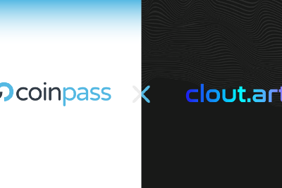 Clout.art Partners with coinpass for Onboarding and Fiat on/off Ramping Services