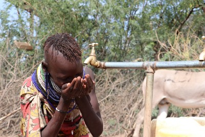 Providing access to safe and clean water in Aagis Village, Turkana West: Success Story