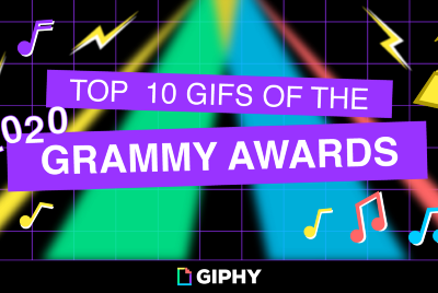 Top 10 GIFs of the 2020 Grammy Awards