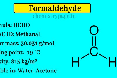 How to test for Formaldehyde? What is the use of formaldehyde in Daily life