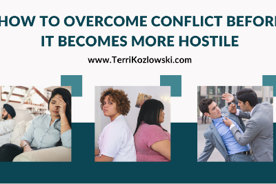 How to Overcome Conflict Before It Becomes More Hostile