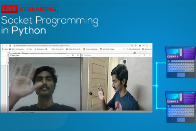 Create Live Video Streaming App using OpenCV and Socket Programming
