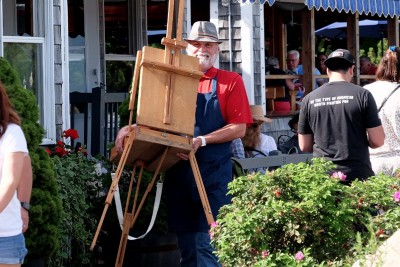 WOW! The Ogunquit Art Colony is THRIVING in 2021: Perkins Cove Plein Air Painting Event