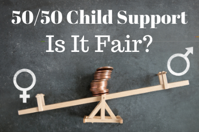 How Do You Figure Out Child Support With 50/50 Schedules?