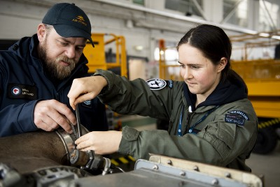 Young women try out Air Force life