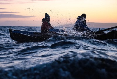 26 Miles: 1 Currach, 2 Men, The Aran Islands to Galway City