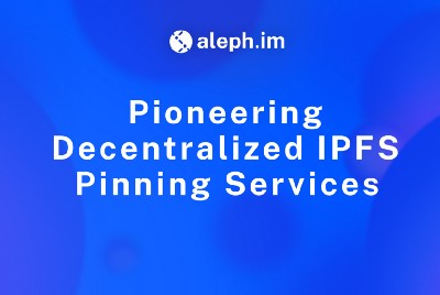 Pioneering Decentralized IPFS Pinning Services