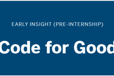 Code For Good'21 by JP Morgra