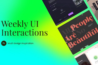 UI Interactions of the week #267