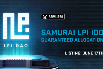 Announcing LPI DAO, the First DAO Launchpad Index. IDO on Samurai.