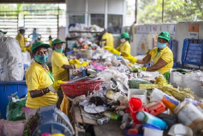 In India, a circular economy creates value from plastic waste