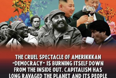 The U.S. empire's attempts to retain control bring the next wave of socialist revolutions closer