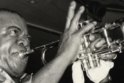 """Apple TV+ announces Louis Armstrong documentary """"Black & Blues: The Colorful Ballad of Louis…"""