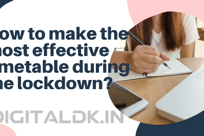 How should children allocate their time to studies during the lockdown?