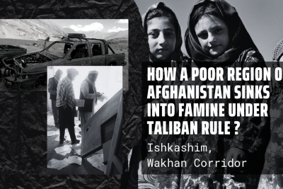 How a poor region of Afghanistan sinks into famine under Taliban rule