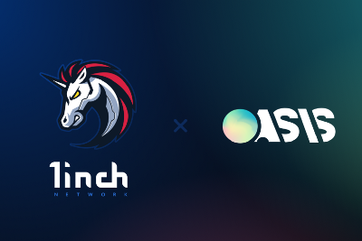 The 1inch Network integrates with DeFi platform Oasis.app