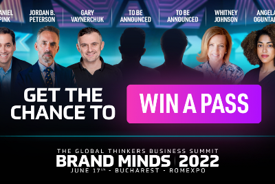 WIN 1 GENERAL PASS TICKET TO BRAND MINDS 2022!