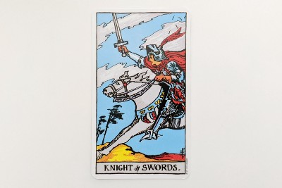 Knight of Swords: Ambition