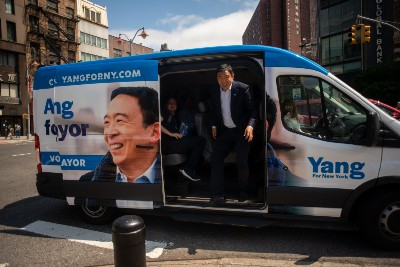 How Andrew Yang Went from Front-Runner to Fourth Place
