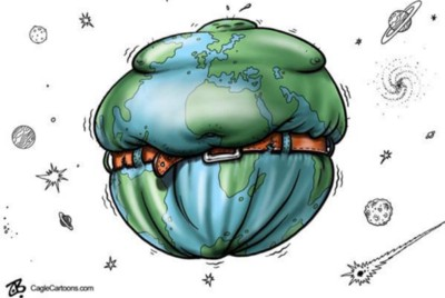 If you think losing weight is hard you should try cutting global carbon emissions!