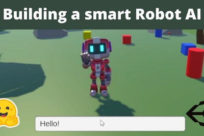 Building a smart Robot AI using Hugging Face 🤗 and Unity