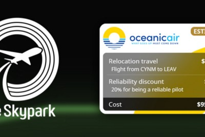 The Skypark: Introducing Costs