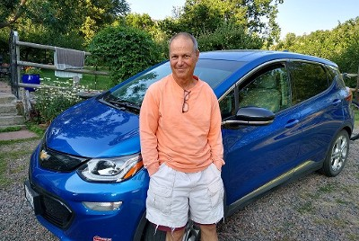 Cross-country in an electric car