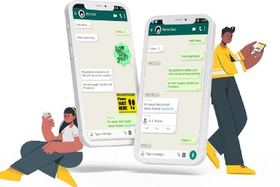Case study: Stickers for better chatting experience