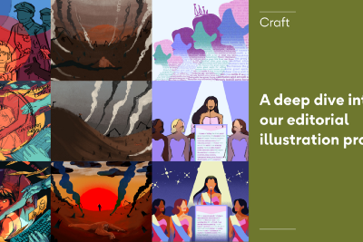 A deep dive into our editorial illustration process