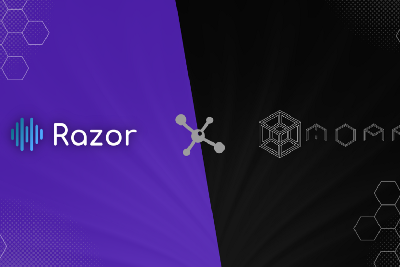 Razor Network partners with MOAR to provide decentralized Oracle data to power the smart contracts…