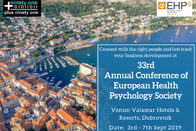 33rd Annual Conference of European Health Psychology Society - Medical Events Guide