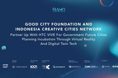 Good City Foundation and Indonesia Creative Cities Network Partner Up with HTC VIVE For Government…