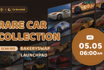 Introducing $CAR IDO — Blind Boxes of BAKE&BNB Co-branded Rare Car Collection