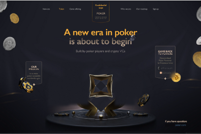 Solving the goal of becoming the largest poker site in the world.