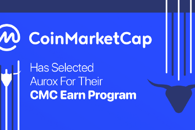 MOMENTUM CONTINUES: CoinMarketCap Earn Selects Aurox as Trusted and Emerging Project