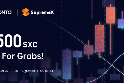 ONTO x SupremeX Giveaway: $500 SXC Up For Grabs!