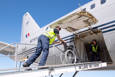 RNZAF transports wheelchairs to those in need in Fiji