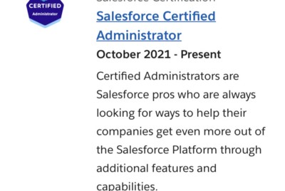 Passing the Salesforce Administrator Certification in 3 Steps