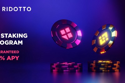 Ridotto's BSC Staking is Live!