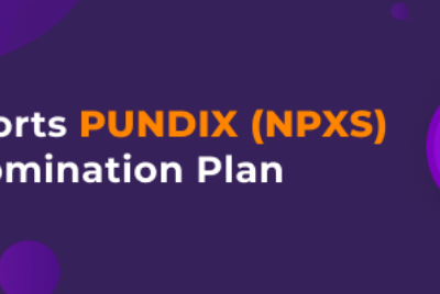BitBns exchange is supporting the PUNDIX (NPXS) Token Migration and Redenomination Plan.