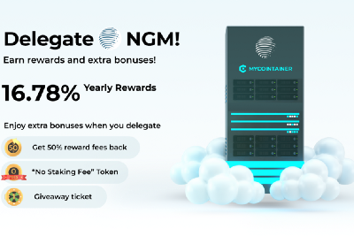 E-Money $NGM delegation guide by MyCointainer (cold staking)