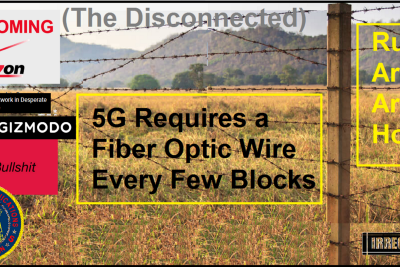 """""""5G"""" Wireless Is the New Fiber Optic, Bait-and-Switch Scandal"""